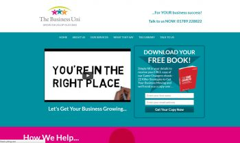 CMS Web Design & Build for Business Development
